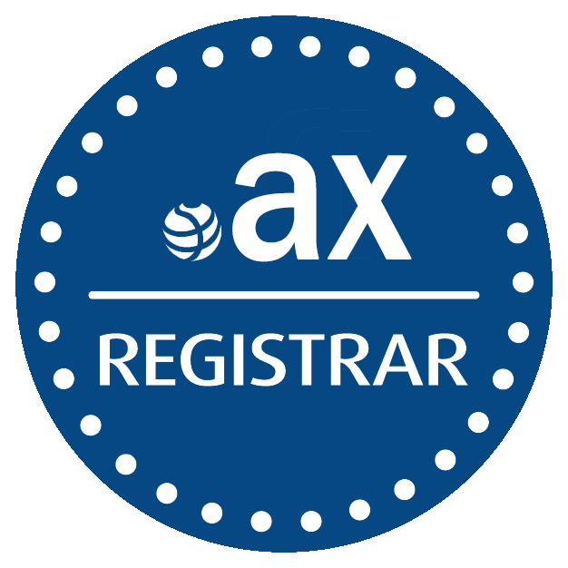 .ax domain name registration