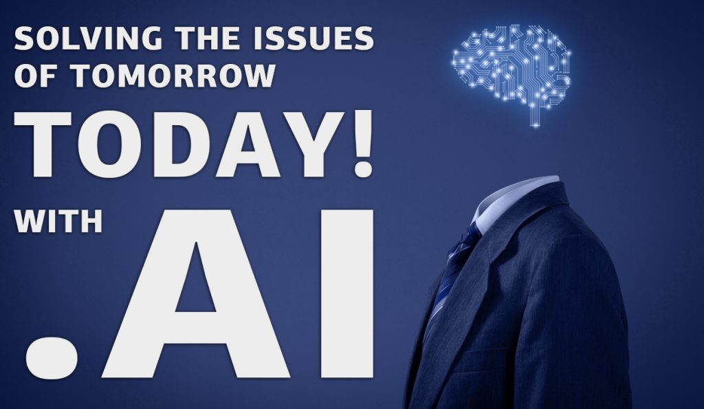 Solving the issues of tomorow today with .AI domain