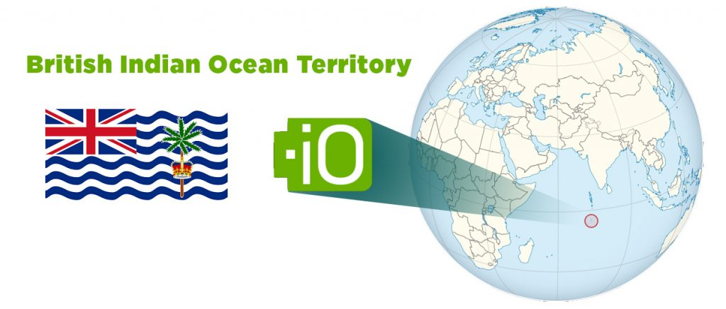 The .IO is a domain extension for British Indian Ocean Teritory